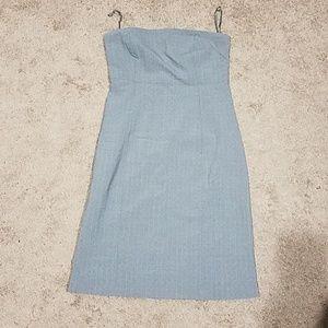 Gap Pinstriped Dress